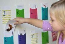 Alphabet in Kindergarten / Strategies, centers, and instruction ideas for teaching the alphabet in kindergarten.
