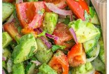 Salads and Sides Inspiration / Salads and side dish recipes for meals and parties