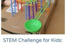 STEM in the Classroom / Fun ideas for STEM or STEAM time in the classroom!