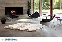 Design - Fireplaces / by Tiffany LW
