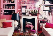 Color Story: In the Pink! / A Colorful Collection of Lovely Pink Things.