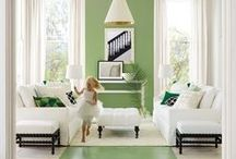 Color Story: Green with Envy / A Collection of things Green and Gorgeous!