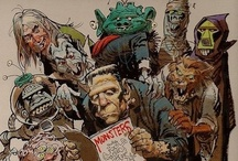 Monster Madness: Awesome & Awful, Cool & Creepy, Ghoulish & Goofy Monster Ads And Stuff / Enjoy a mixture of monsters, horror toys and things...all are treasured memories from my younger days.  I owned and still own quite a few of these things. / by John D. Hill