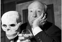 Movies: Horror & Thrillers - Alfred Hitchcock (Director) / Alfred Hitchcock movies and Hitch at work and play... / by John D. Hill