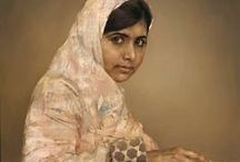 I Am Malala / Inspiration from Malala Yousafzai, the 16 year old from Pakistan who was shot at point-blank range by the Taliban for her campaign for girls' right to education. her story, I Am Malala is published in October 2013.  http://www.orionbooks.co.uk/books/detail.page?isbn=9780297870913