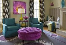 Bold / Go bold in your home with some of these ideas