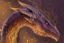 Dragons / Dragons, Dragon Art
