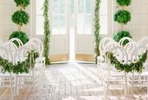 AISLE.style. / The love + the details for a perfect aisle style - from simple chair arrangements to exquisite floral installations.