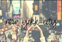 NYC / new york city has my heart. / by Chandra Robrock