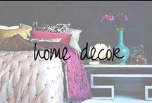 Home Decor / by Chandra Robrock