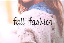 Fall Fashion / a florida girl's guide to what to wear in colder weather. / by Chandra Robrock