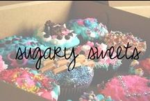 Sugary Sweets / if it involves oreos, cookie dough, peanut butter or cupcakes, I probably pinned it. / by Chandra Robrock