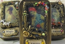Altered tins, and shadowboxes! / by Sharon Pollard