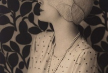 Vintage Fashion...early twentieth century 20's/30's early 40's