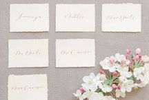 BE.seated. / Escort Cards . Table Plans . Place Names .