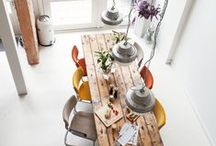 DINE.space. / Stunning and practical spaces to dine with the family. Ideas for my next home!