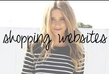Favorite Shopping Websites / by Chandra Robrock