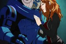 Shakarian | Garrus x Fem!Shepard