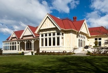 Photos of Pen-y-bryn / We like to think that our lodge is a particularly beautiful building. Designed and built by the storied firm of Forrester & Lemon in 1889, Pen-y-bryn features in many books on outstanding NZ architecture.