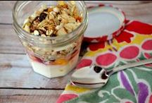Wake Up Happy / All my favorite breakfast recipes - mostly healthy recipes with some sweet stuff, too.
