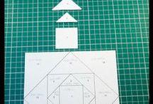 Square in a Square or Economy Block