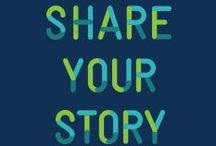 SHARE YOUR STORY / Virtual storytelling community. Stop by to tell us your story or to read or view those of others.  / by Fred Hutch Cancer Research Center