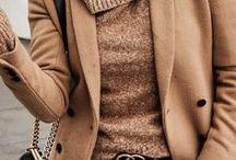brown + tan