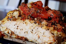 Recipes / Bruschetta Chicken...looks awesome! Healthy and all ingredients on hand. / by DeAnna Paige Redden