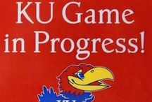 Rock Chalk Jayhawk... / I am an avid fan of the University of Kansas Men's Basketball team. I have followed the Jayhawks since before Larry Brown accepted the coaching duties; and the rest they say is history. Rock Chalk Jayhawk! / by Cyndi