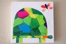 1st grade art stuff / by martha kristi
