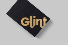 Founded : Glint / Identity for internationally touring exhibition Glint.