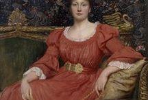 19th: Victorian / Pre-Raphaelite, Aesthetic & Artistic Reform dresses / inspiration