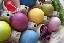 EASTER / Natural Easter egg dyes and decorating
