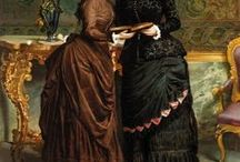 19th: victorian: 1880s / fashion of the late bustle era
