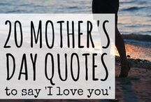 Mother's Day / Gift Ideas, Tributes, and more for Mother's Day