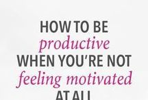 Snap Out Of It / Staying motivated, getting things done, happier mindset