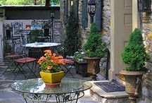 - I heart Courtyards / by DesignDreams by Anne