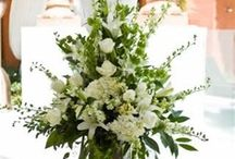 Wedding Flowers  / Wedding day flowers - from ceremony to reception, flower inspiration for the big day