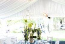 Tent Receptions  / Wedding tents