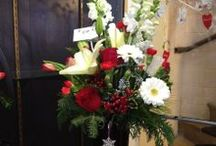 Holiday from Plant Place  / Plant Place and Flower Basket / Buffalo Wedding Florist 1061 Niagara Falls Boulevard Amherst, NY 14226 716.838.3400 www.plantplaceflowerbasket.com
