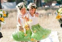Ring Bearer and Flower Girl  / Ideas and inspiration for your ring bearer and flower girl on your wedding day!