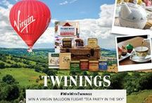 Tea Competitions / Twinings Tea UK runs many competitions, Facebook timeline giveaways, Twitter giveaways and big competitions on our website - why not take a look at what's currently available to enter: http://www.twinings.co.uk/about-twinings/twinings-competitions