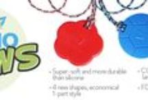 "Chewelry & Lanyards  by SentioLife Solutions - Retail & Wholesale / SentioLife Solutions, Ltd. the company behind two sensory chew necklaces. KidCompanions Chewelry (2006) & SentioCHEWS (2013). Both designed by Pierrette d'Entremont and made in Canada.  Some of the company's other products are 3 types of Breakaway Lanyards: ◘SentioSTYLES 24""  ◘100% Undyed Organic Cotton 18, 20, 24 inches ◘100% Colorful Soft Cotton 18, 20, 24 inches >Retail http://kidcompanions.com/  >Wholesale http://sentiolifesolutions.com/"