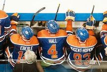 Puck: Hall/RNH/Eberle / The Kid Line / by Kat Law