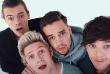 one direction / cute as a button, every single one of them / by leah katherine