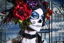 Dia de Los Muertos / Day of the Dead Inspiration / Crafts and tutorials on how to celebrate Day of the Dead