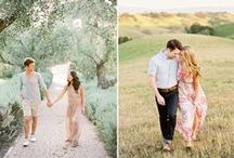 INSPIRATION | Save the date announcement / Inspiration photos for engagement shoots and save the dates for your wedding!
