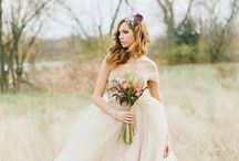 WEDDING | Beautiful gowns / Wedding and glamour dresses!