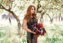 WEDDING THEME | Bordeaux barn wedding