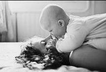 Mother & Child Black & White Photography